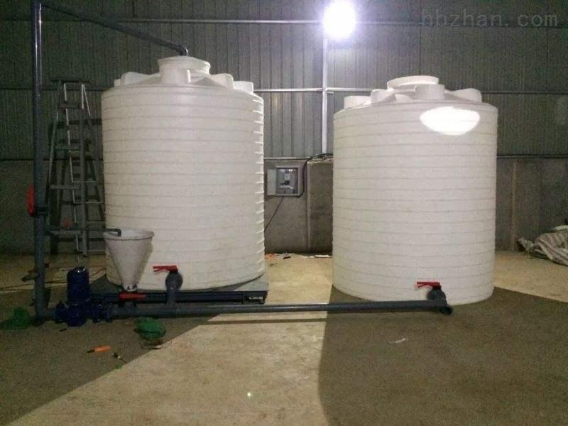 淮北6立方塑料大桶  片碱溶药箱