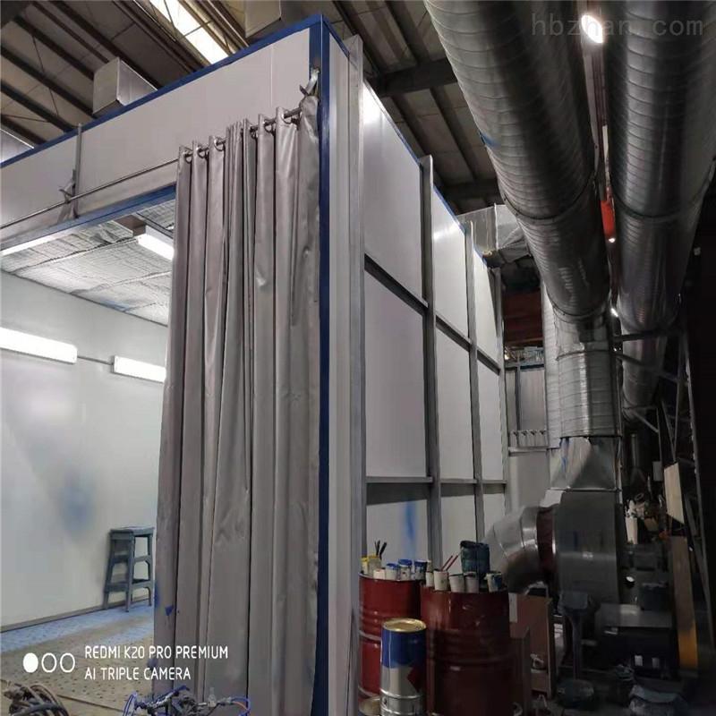 巢湖侧吸式喷漆房设备厂家