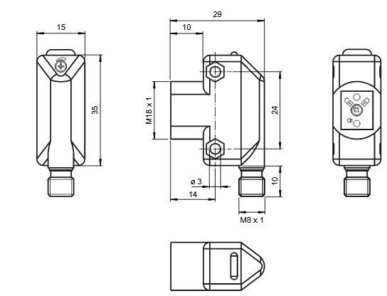 光纤传感器 ML17-LL-K/136/143