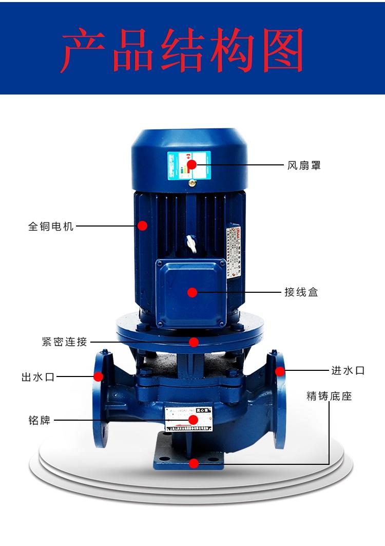 立式循环泵结构图