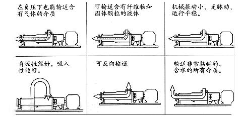 螺杆泵安装使用示意图