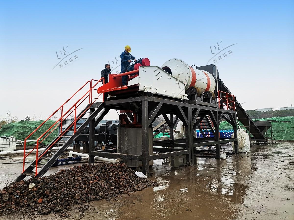 重金属土壤淋洗修复设备