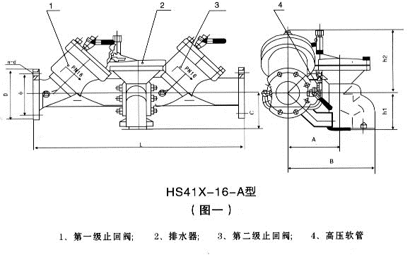 HS41X<strong>不锈钢防污隔断阀</strong>图