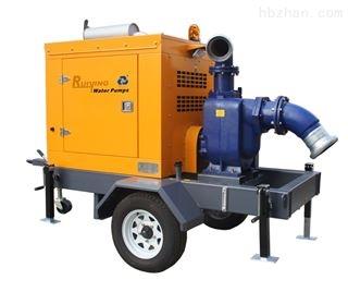 动应急排水泵车