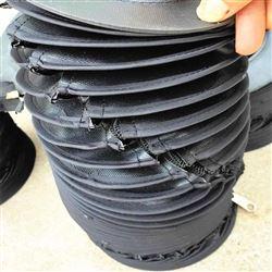 拉链式液压油缸伸缩保护罩