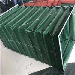 绿色帆布除尘离心风机进风口软连接
