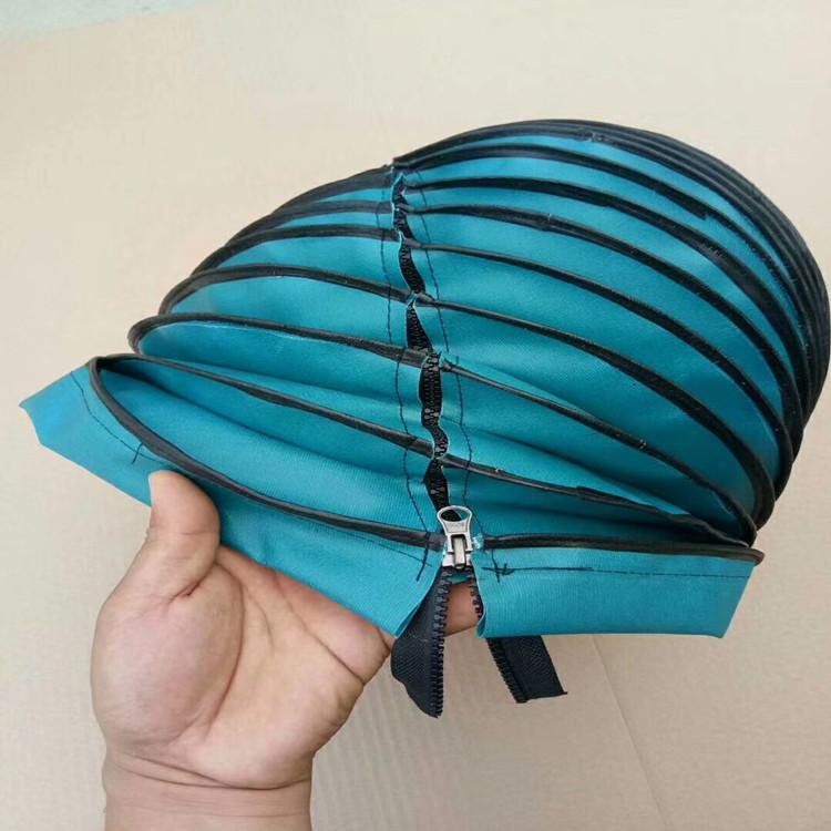 拉链式液压杆防护罩