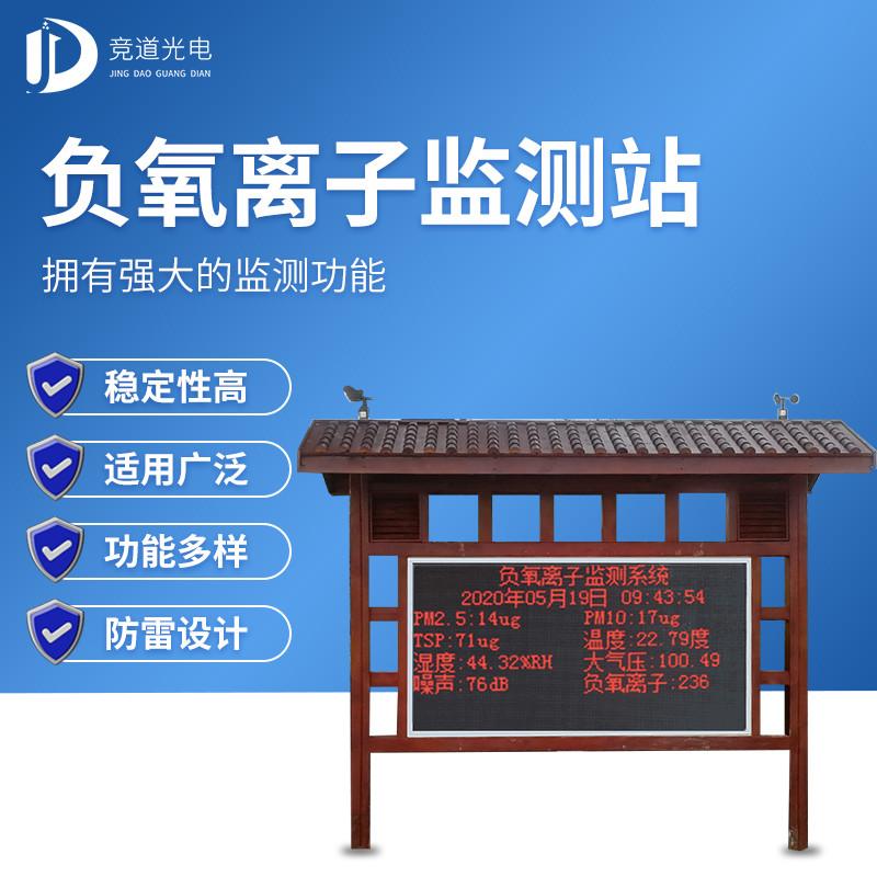 景区空气负氧离子监测系统