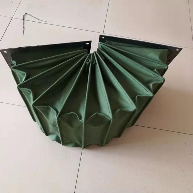 绿色帆布排烟负压软连接