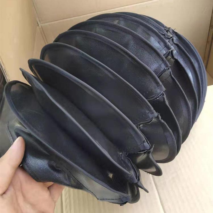 缝合式液压油缸伸缩防尘罩